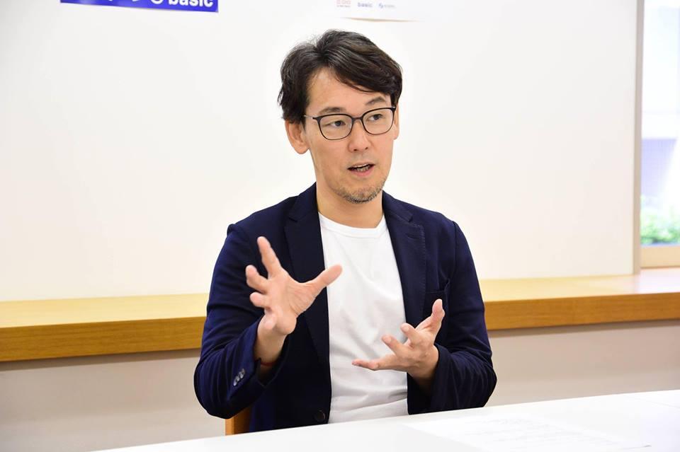 株式会社ベーシック秋山社長
