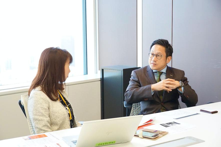 ノバルティス ファーマ株式会社  綱場一成さんインタビュー